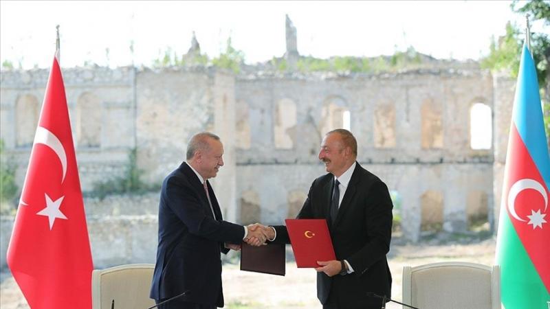 Aliyev ve Erdoğan 'Şuşa Beyannamesi'ne imza attı