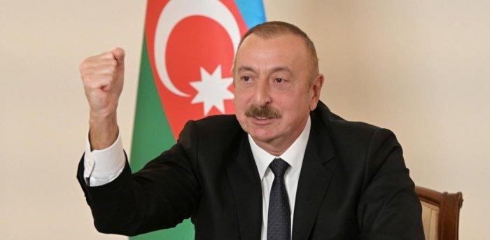 Azerbaycan Cumhurbaşkanı Aliyev, 7 köyün kurtarıldığı açıkladı