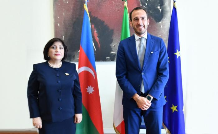 Azerbaycan-İtalyan ilişkileri üst düzeyde