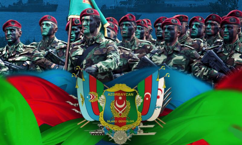 Azerbaycan Silahlı Kuvvetler Günü 102-ci yıldönümü