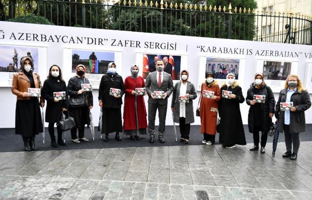 Beyoğlu'nda 'Karabağ Azerbaycan'dır Zafer Sergisi' açıldı - FOTOLAR