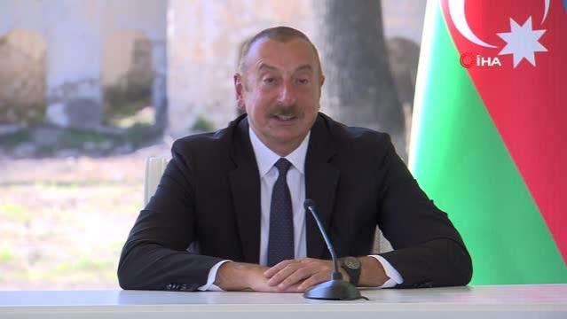 Cumhurbaşkanı Aliyev: