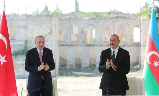 Cumhurbaşkanı Erdoğan: Şuşa'da başkonsolosluk açılacak