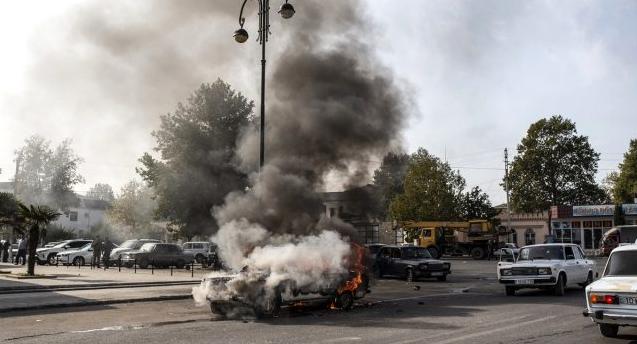 Ermenistan ordusu Berde şehir merkezini vurdu: 20 kişi yaşamını yitirdi