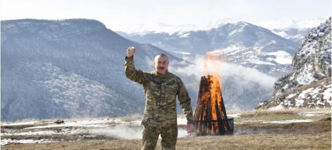 İlham Aliyev Şuşadan halka seslendi