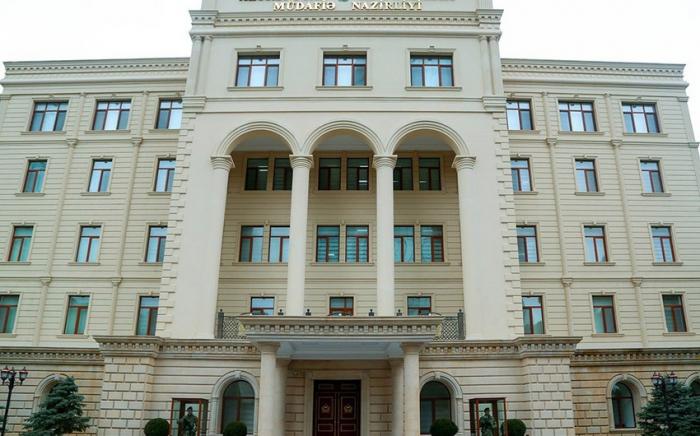 Savunma Bakanlığı: Bakü'nün ateş altında olduğu yalan