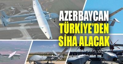 Azerbaycan Türkiye'den SİHA alacak