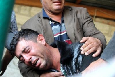 Berde'deki hain saldırıda can verenler toprağa verildi - FOTO