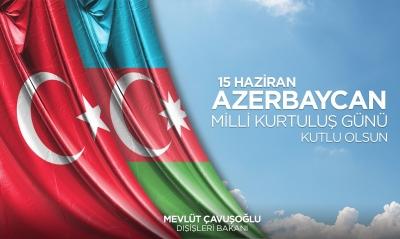 Çavuşoğlu Azerbaycan halkını tebrik etti