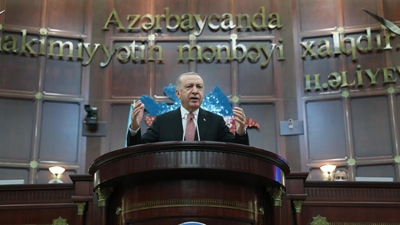 Cumhurbaşkanı Erdoğan: Karabağ toprakları sahibine kavuştu