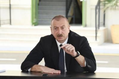 Cumhurbaşkanı Karabağ'da yasadışı faaliyet göstermiş şirketleri uyardı