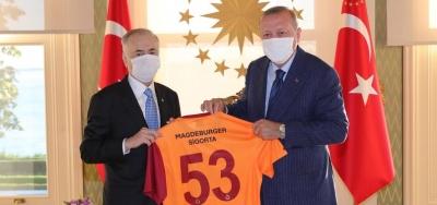 Erdoğan Mustafa Cengiz'i kabul etti!