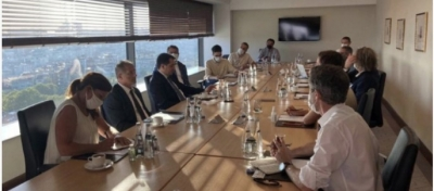 Hikmet Hacıyev, İstanbul'da medya temsilcileriyle bir araya geldi