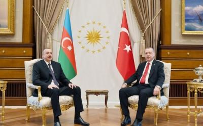 İlham Aliyev Erdoğan'a başsağlığı diledi