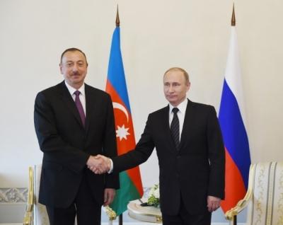 İlham Aliyev, Putin ile sınırdaki durumu görüştü