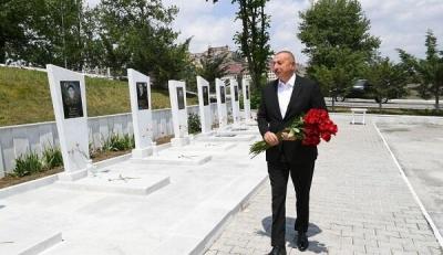 İlham Aliyev Taşkesen'e gitti - FOTO