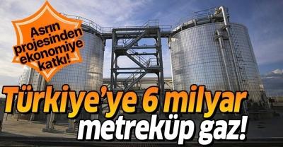 TANAP'tan Türkiye'ye gelen gaz miktarı 6 milyar metreküpe ulaşacak
