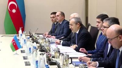 Türkiye Ticaret Bakanı Pekcan, Azerbaycan Ekonomi Bakanı Cabbarov ile görüştü